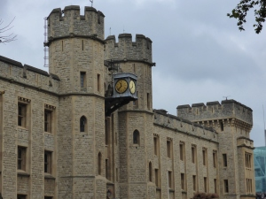 Crown Jewel building at the Tower of London