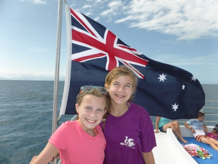 Fantastic day at the Great Barrier Reef!