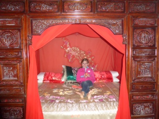 My bed in China
